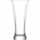 Glass beer glass for wheat beer 350 ml