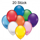 Balloons 20s each 22cm in diameter,