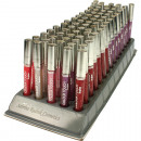 Cosmetics Lipgloss 7ml Sabrina with glitter 10 col