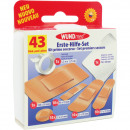 wholesale Care & Medical Products: Wound Dressing First Aid Box 43-piece