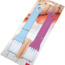 Pastry brush set of 2 on card,