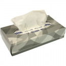 Cosmetic towels 2 lay 100 Kleenex cloth gram 21x1