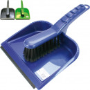Sweeping set XL 2-piece 35x22cm with rubber lip
