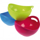 wholesale Crockery: Bowl combined with sieve 21,5 x 12cm