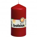 Großhandel Home & Living: EIKA Stumpenkerze 11,5cm(H)x6cm (DM), bordeaux