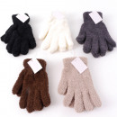 Winter ladies cuddle glove 5 colors assorted
