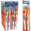 Toothbrush Elina 2er Flexident on card 18cm