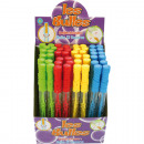 grossiste Jouets de plein air: baguette Bubble couleur 30cm 70ml assorti à Disp