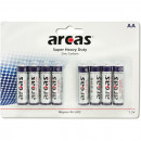 Batterie Arcas R06 Mignon AA 8er