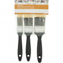 wholesale Painting Supplies: assorted brush set of 3 assorted in sizes 2, 5/3 ,