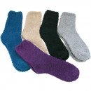 Socks cuddly socks plain colors 9 colors assorted