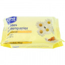Großhandel Hygieneartikel: Toilettenpapier feucht 72er Elina Kamille 18x12cm