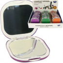 wholesale Home & Living: Mirror for bag Plexi Look 7cm 3colours assorted