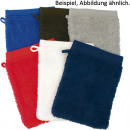 wholesale Bath & Towelling: Washing glove with shelves 20x15cm colored assorte