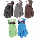 Winter glove fleece for women plain,