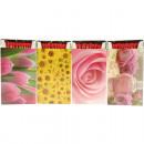 Matches 50s flower motifs 6-fold 12,5x6,5x2c