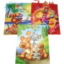 Gift bag children motifs XXL 32x26x12,5cm