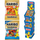 Food Haribo 175/200g Display Goldbären 3-fach Sort