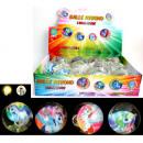 Leuchtball Einhorn 6,5cm, 4 Farben sortiert
