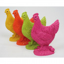 Chicken made of expensive synthetic resin 9x6cm