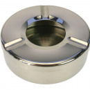 wholesale Home & Living: Ashtray stainless steel 11x3,5cm