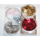 Decoration set 2pcs on card and in PVC box 2x8g ea