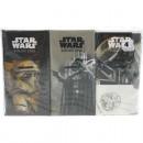 Zsebkendők 6 x 9 Star Wars motívum 4lagig