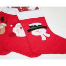 Großhandel Home & Living: Filz Weihnachtsstiefel rot XXL 42x19cm