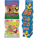 Food Haribo 200g 106er Display Flaschen Naschen