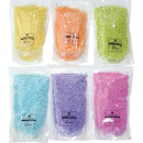 wholesale Decoration: Decosand 400g 6 colors assorted in the clarificati
