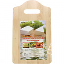 wholesale Decoration: Kitchen cutting board hanging 25x15cm made of wood