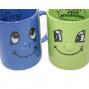 Kaffeebecher 325 ml / 11 OZ, 12x8cm SMILE-Design,