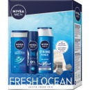 wholesale Cremes: Nivea GP Sport Set Deo 150ml + Shower 250ml