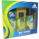 Adidas GP EdT 50ml + zuhanyzó 250ml + dezodor 150m