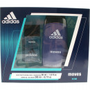 Adidas GP EdT 30ml + Dusch 250ml Moves