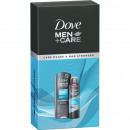 Dove GP Dusch 250ml + Men dezodor spray 150ml Clea