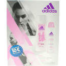 Adidas GP Women Deodorant 150ml control + Shower 2