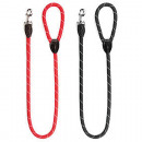 Dog leash 1.20m x 1cm blue and red assorted
