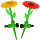 Water sprinkler flower 33x10cm 2 colors assorted