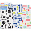 Microfiber kitchen towels CLEAN set of 3