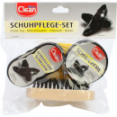 wholesale Cleaning: Shoe care set 4 pieces in bag with header