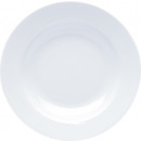 wholesale Crockery: Porcelain soup white 22x3cm