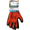 Work gloves Heavy Duty M-XXL orange / black