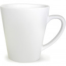Porcelain Coffee mug conical shape white 300ml