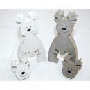 hurtownia Zabawki: Holzdekoelch 2 części 2-krotnie 8,2x1,8x17cm Sorti