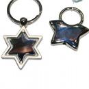 Kulcstartó csillag 8x4cm értékű ezüst sípcsontvédő