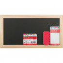 Chalk board set 28x15cm, chalk 4pcs and sponge