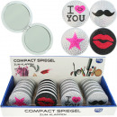 wholesale Home & Living: Mirror for bag 6,5cm jewelry design foldable ru