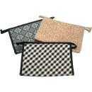 wholesale Travel Accessories: Cosmetic bag FOR MEN 26,5x17x8,5cm 3-fold sortie