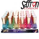 Vernis à ongles couleurs pastel safran plateau 13m